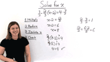 How Do You Solve a Two-Step Equation by Multiplying by a Reciprocal?