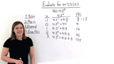 How Do You Evaluate an Exponential Function?