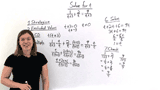 How Do You Solve a Rational Equation With Binomials in the Denominator?