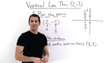 How Do You Graph a Vertical Line?
