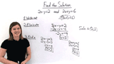 How Do You Solve a System of Equations Using the Elimination by Subtraction Method?