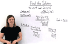 How Do You Solve a System of Equations Using the Elimination by Multiplication Method?