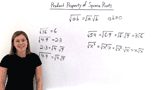 What is the Product Property of Square Roots?