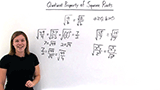 What is the Quotient Property of Square Roots?