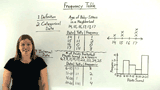 What is a Frequency Table?
