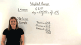 What is a Weighted Average?