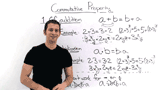 What is the Commutative Property?