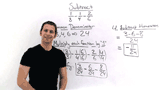 How Do You Subtract Fractions with Different Denominators?