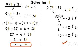 solve algebra problems with steps