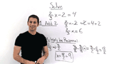 How Do You Solve a Multi-Step Equation with Fractions Using Reverse Order of Operations and Reciprocals?