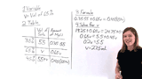 How Do You Figure Out the Volume of a Solution Using Percents?