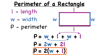 Whats the formula for the perimeter of a rectangle virtual nerd ccuart Image collections
