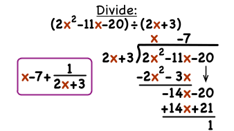 How Do You Do Long Division With Polynomials Virtual Nerd