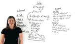 How Do You Solve a Quadratic Equation with Complex Solutions by Completing the Square?