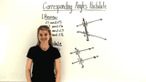 What is the Corresponding Angles Postulate?