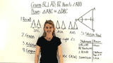 How Do You Use a Congruence Postulate to Prove Triangles are Congruent?