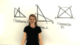 How Do You Identify Common Parts in Overlapping Triangles?