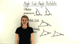 What is the Angle-Side-Angle Postulate for Triangle Congruence?