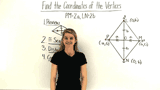 How Do You Use Variables to Name Coordinates for a Figure Placed on the Coordinate Plane?