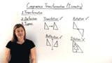 What is a Congruence Transformation, or Isometry?