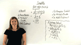 How Do You Simplify an Expression Using the Order of Operations?
