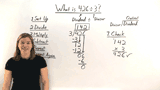How Do You Divide a Three-Digit Number by a One-Digit Number?