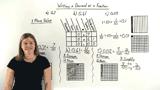 How Do You Write a Decimal as a Fraction?