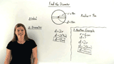 How Do You Find the Diameter of a Circle if You Know its Radius?