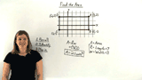 How Do You Find the Area of a Rectangle in the Coordinate Plane?