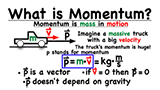 What is the definition and formula for momentum?