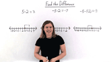 How Do You Subtract Integers Using a Number Line?