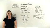 How Do You Solve a Word Problem Using a Two-Step Equation?