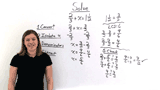 How Do You Solve an Equation With Fractions With Different Denominators Using Subtraction?