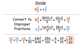 How Do You Divide Mixed Numbers? | Virtual Nerd