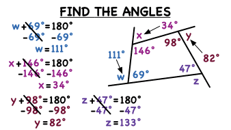 Formula To Work Out Interior And Exterior Angles Of A Polygon Interior And Exterior Angles Of A