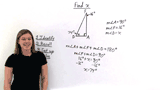 How Do You Find a Missing Angle in a Right Triangle?