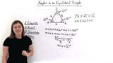 Why Are the Angles of Equilateral Triangles Always Equal to 60°?