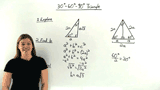 What is a 30-60-90 Degree Triangle?