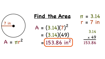 How do you find the area of a circle if you know the radius how do you find the area of a circle if you know the radius virtual nerd ccuart Images