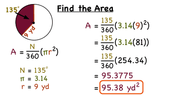How Do You Find the Area of a Sector of a Circle? | Virtual Nerd
