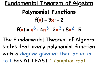 What Is The Fundamental Theorem Of Algebra?